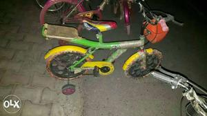 New kids cycle good quality all sizes available