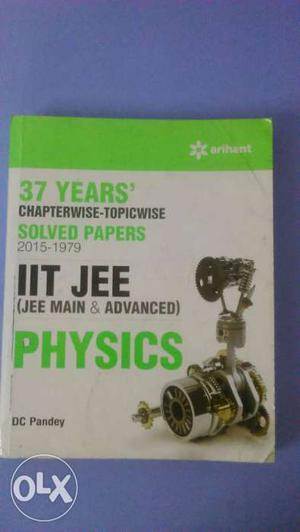37 yrs. chapterwise solved papers  of