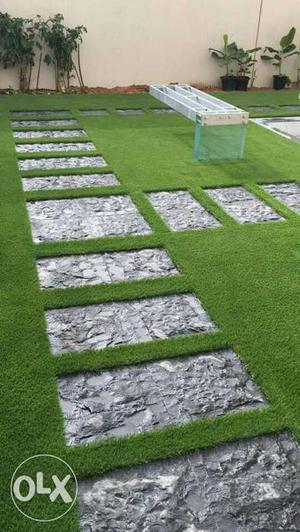 Artificial grass lawn 35mm preferable for out