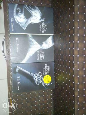 Fifty Shades of grey by EL James. Romantic and