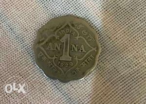 It is a  ANNA COIN of British East India