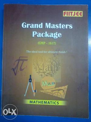 Latest FIITJEE GRAND MASTER PACKAGE for