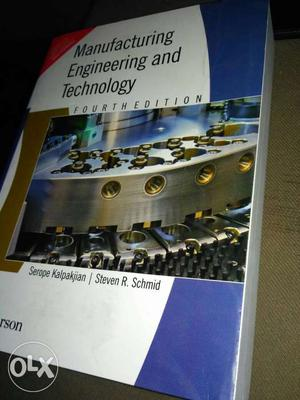 Manufacturing Engineering And Technology book.