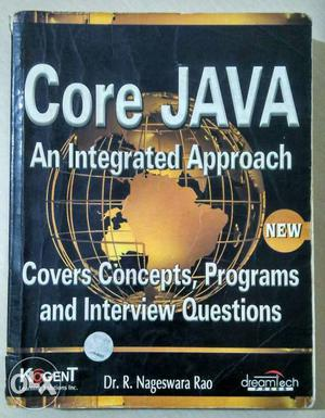 Core Java Integrated Approach Black Book with