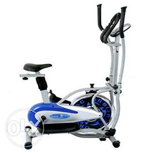 Cross trainer elliptical fitness cycle for weight loss less