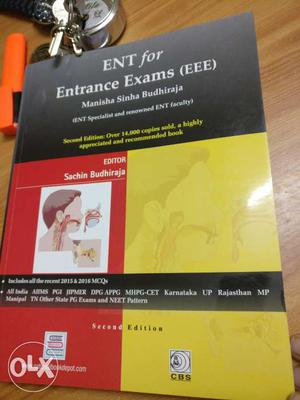 Medical Books: ENT McQ book for PG entrance