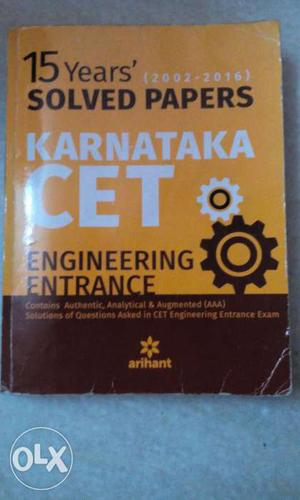 15 years solved papers which is very helpful 60% of price