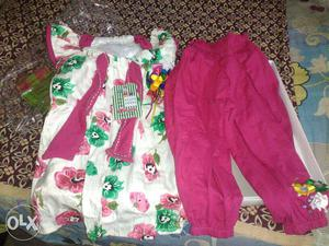 Brand new baby girl dress for 3 to 4 years old