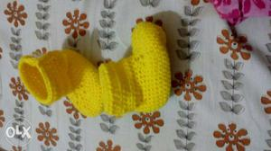 Crochet baby bootie 3 sizes available