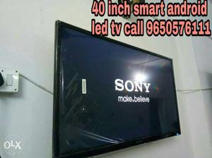 40''Black Sony Smart full hd LED TV