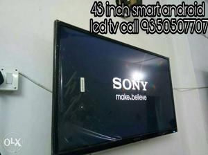 43''Black Sony Flat Screen Smart full hd led Television