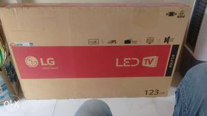 49 inches brand new led LG TV