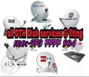 All DTH Dish Services & Fiting