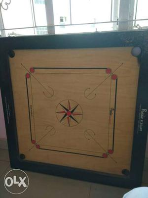 Carrom board in a very good condition of a very
