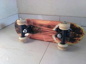 German purchased wooden Skateboard