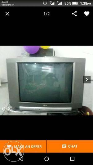 Gray LG Widescreen CRT TV Screenshot