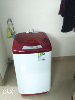 Haier Fully Automatic Top load 5.8 kg,only 9