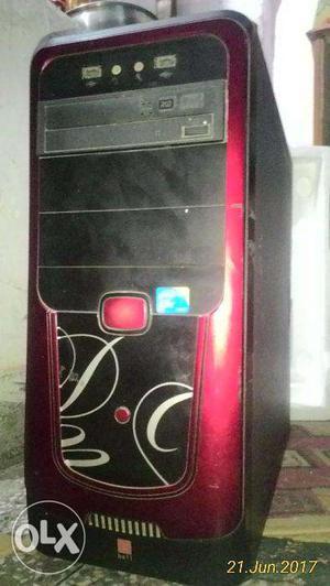 Intel Core 2 Duo Desktop PC with 4 GB RAM