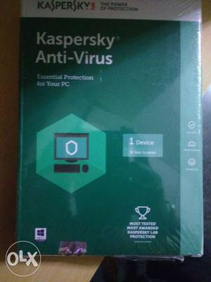 Kaspersky sealed antivirus - 1 device for 3 years
