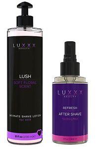 Luxxx Beauty Ultimate Female Shaving Kit - Lush Intimate