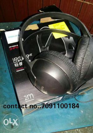Philips Hifi Stereo Headphones Very Light Weight