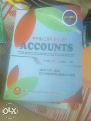 Principles Of Accounts Book