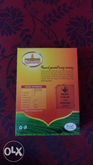 Quality tea with good price.