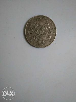 Royal government of Bhutan  coin of fifty