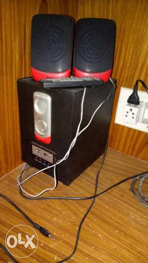 Speakers - 800 Bin Bag-500 Jute Stool- 400