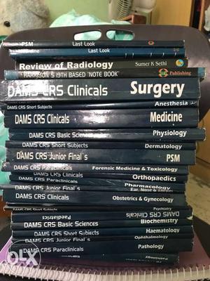 TEST SERIES + DAMS CRS series + last look +