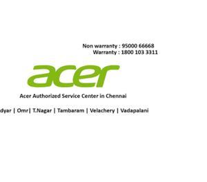 Authorized Acer Laptop Service Center OMR Chennai