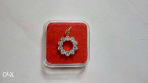 Beautiful designer American Diamond pendent