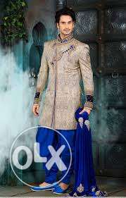 Designer sherwani made on order,for any occasion,partywear