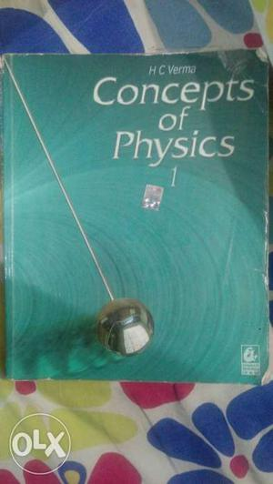 Hc Verma concept of physics part 1. Good for IIT
