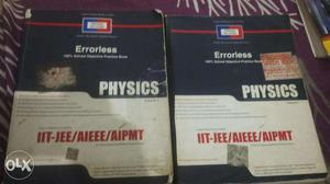 IIT preparation books... good condition. Price-