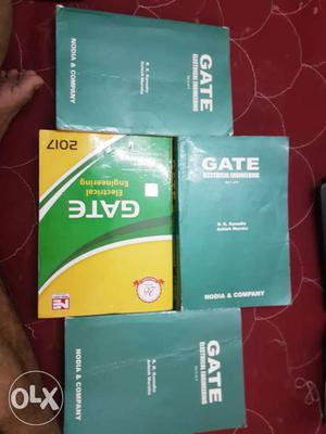 Kanodia electrical volume 1,2 and 3 plus previous year gate
