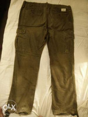 Original Abercrombie and Fitch Cargo Pant. Size 36