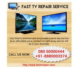 samsung led tv repair, onida led tv repair   ETRO TV