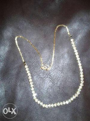 American Diamond gold plated Necklace in best