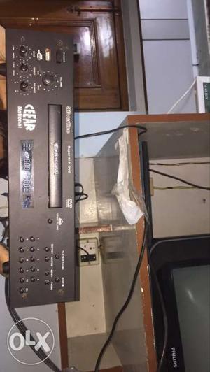 Black CD Player