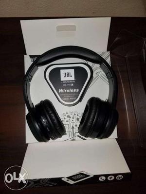 Black JBL Wireless Headphones In Box