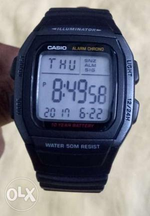 Brand new casio digital watch for men, sporty