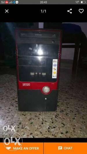 Dual core cpu new 160gb hard disk 1gb ram 945
