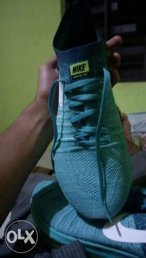 Gray Nike Athletic Shoe