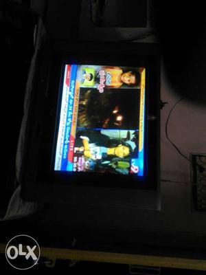 "LG 21"" flat screen good condition tv"