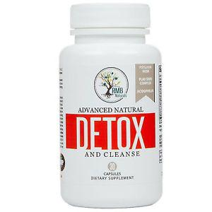Natural Colon Detox & Cleanse - Energy Boost Advanced