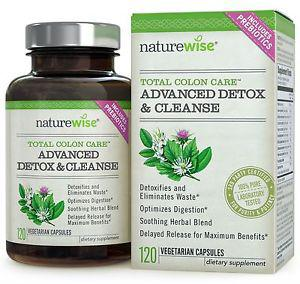 NatureWise Total Colon Care: Advanced Detox & Cleanse with