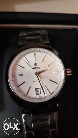 Rado automatic full ceramic watch with box and