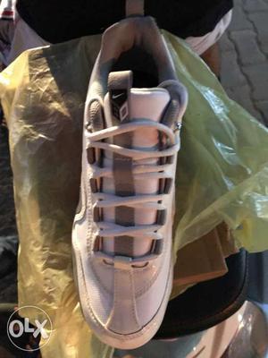 White Nike Athletic Shoe