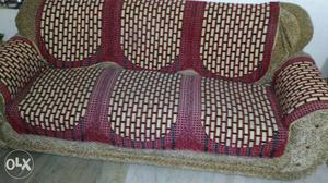 My sofa five seater sofa set good condition but
